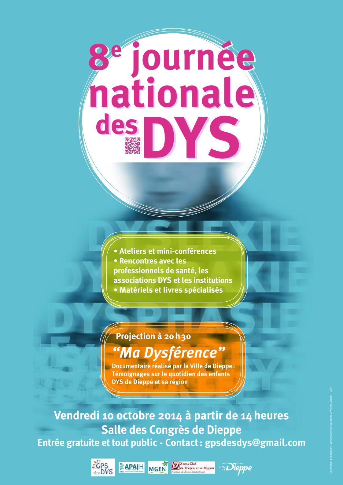 8ème JOURNEE NATIONALE DES DYS à DIEPPE