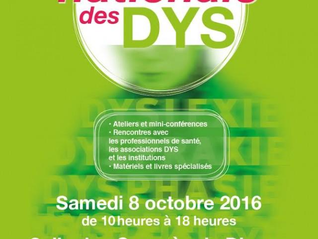 10ème Journée Nationale des DYS à Dieppe le 8 octobre 2016