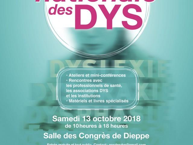 12ème Journée Nationale des Dys 2018 à Dieppe