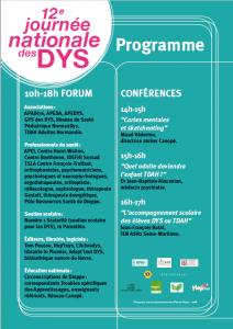 Programme JdesDys 2018