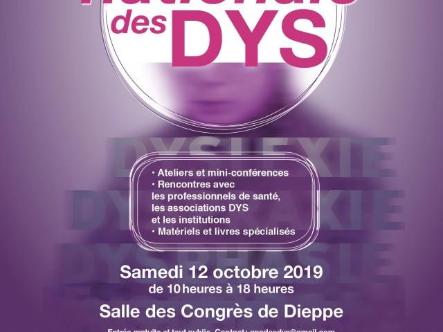 13ème JOURNÉE NATIONALE DES DYS À DIEPPE