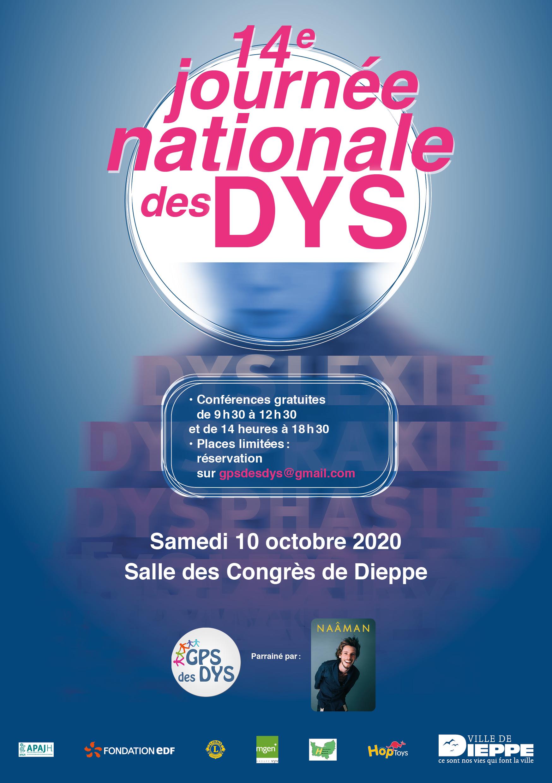 14ème JOURNÉE NATIONALE DES DYS à DIEPPE 10 octobre 2020